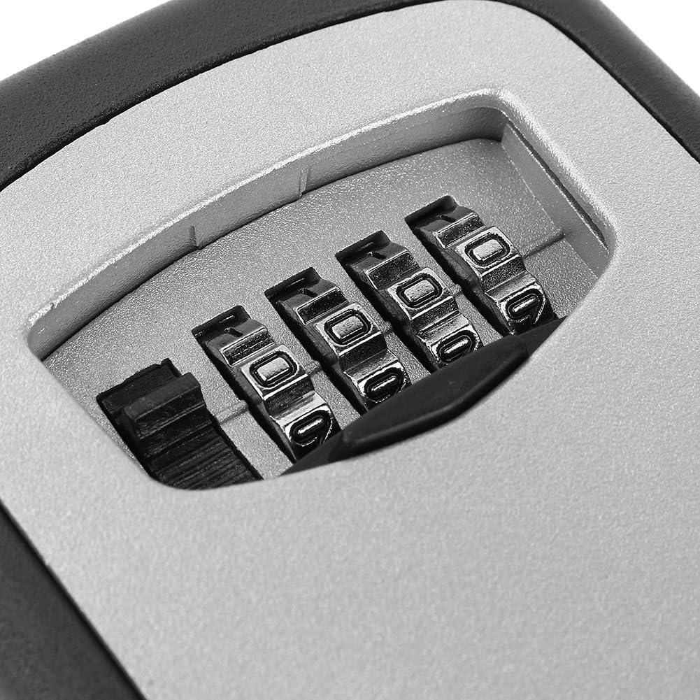Yosoo Box mit Schl/üssel Safe Code-Korpus-Sicherheit der Schrank mit Zahlenschloss 12,5/* 8/* 4/cm