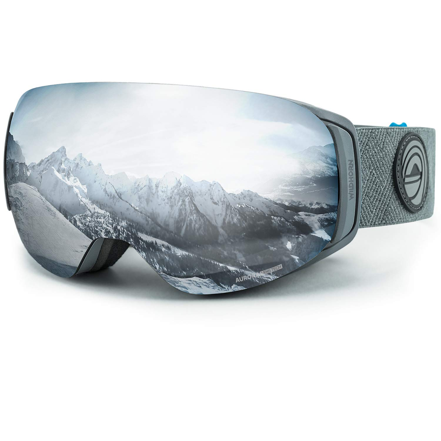 Wildhorn Roca Snowboard & Ski Goggles - US Ski Team Official Supplier - Premium Magnetic Snow Goggles by WildHorn Outfitters