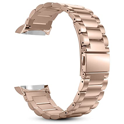 Amazon.com: Correa de reloj Gear S2, Fintie de acero ...
