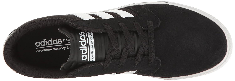 best cheap 09415 da483 Zapatilla de deporte Sneakers Cloudfoam Super Skate de adidas Neo para  hombre Negro   Blanco   Lima