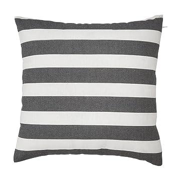 avanzza funda de cojín/almohada de 40 x 40 cm en negro para ...