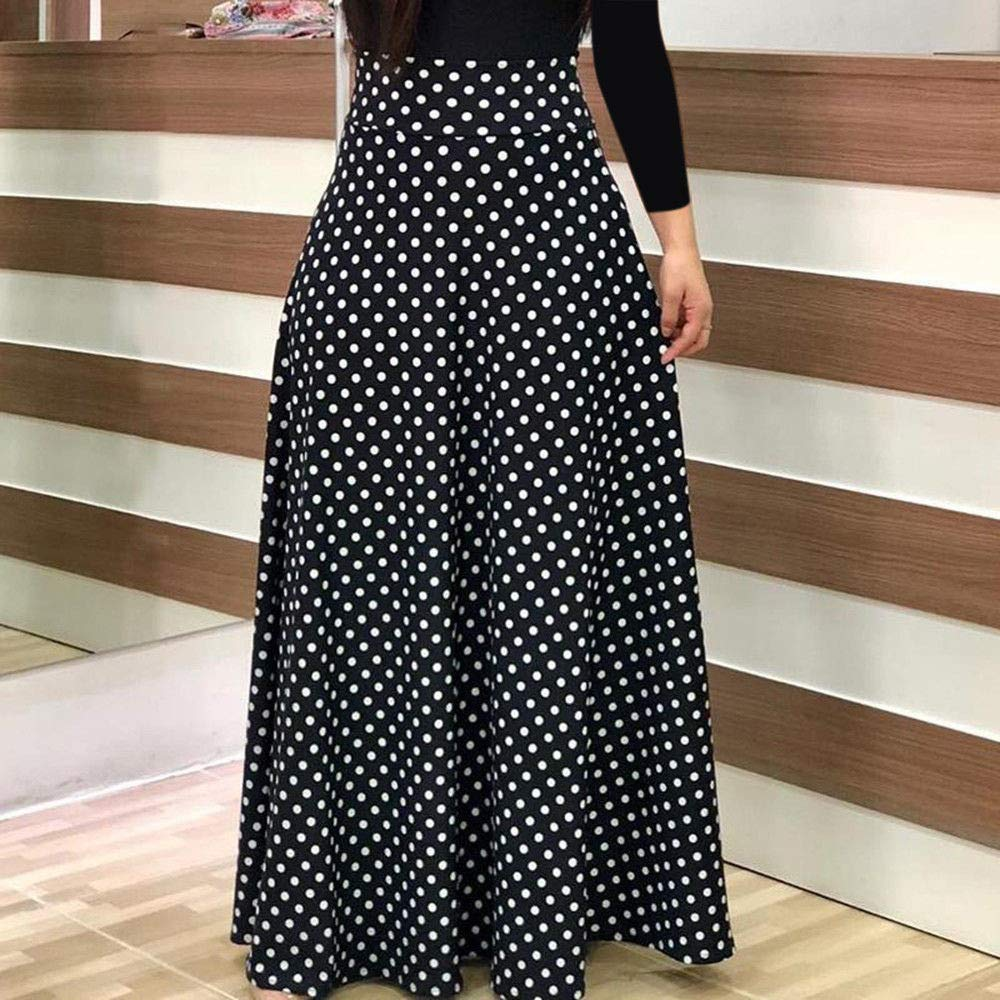 Women Floral Print Long Sleeve High Waisted Maxi Dress Casual Party Cocktail Long Dress at Amazon Womens Clothing store: