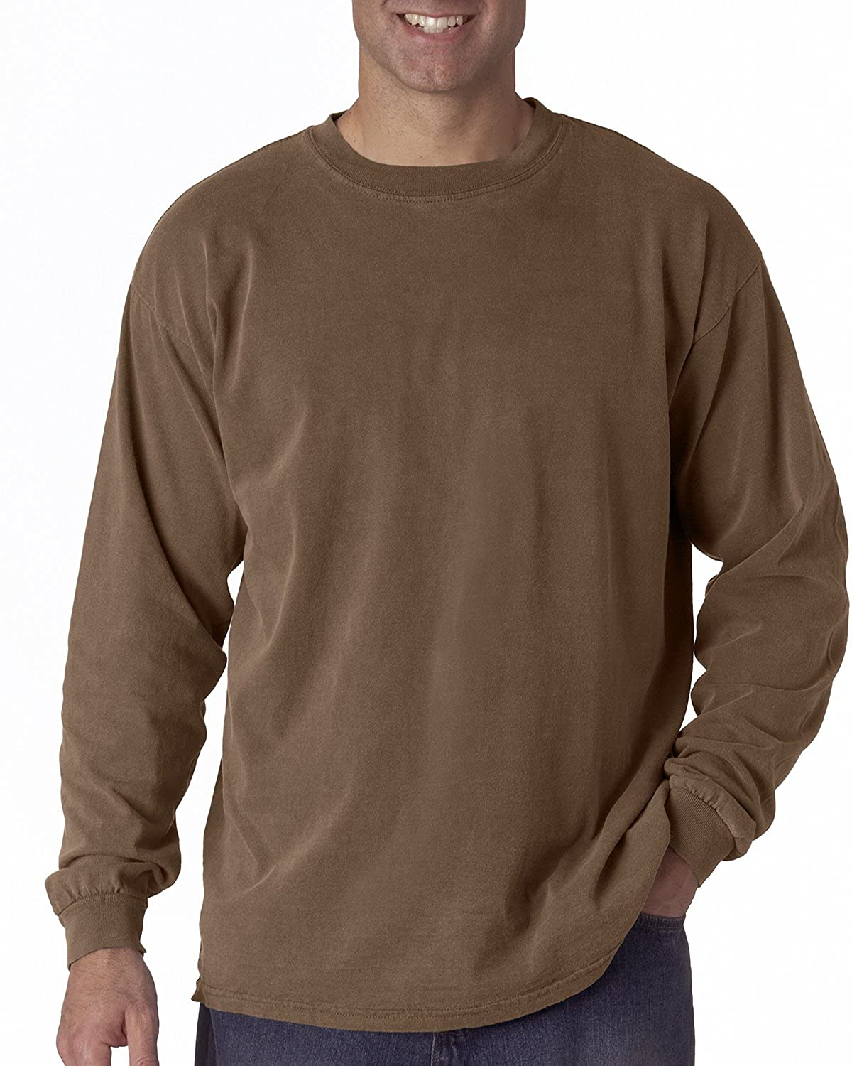 Comfort Colors - Garment Dyed Heavyweight Ringspun Long Sleeve T-Shirt - 6014 2217