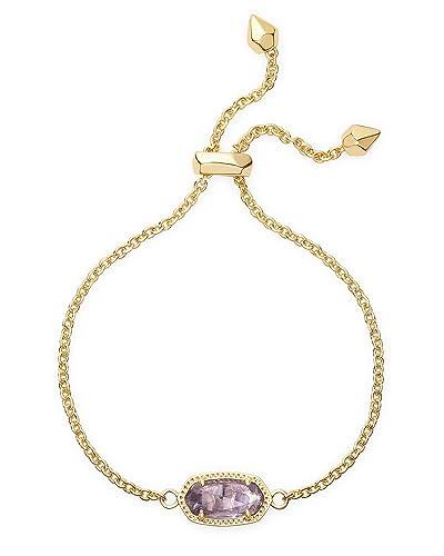 881cd3f6170456 Amazon.com: Kendra Scott Elaina Adjustable Chain Bracelet in Amethyst:  Jewelry