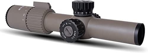 Monstrum G3 1-4x24 First Focal Plane FFP Rifle Scope with Illuminated BDC Reticle