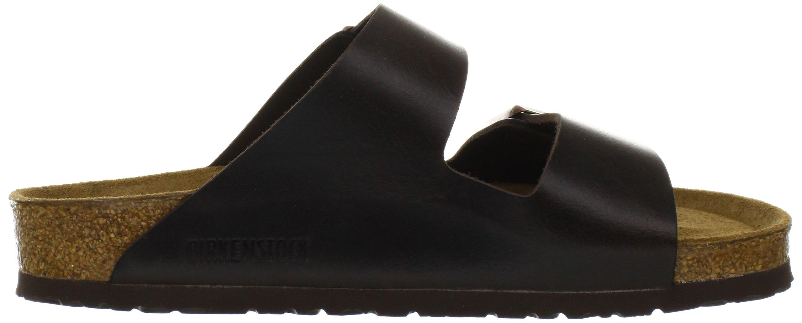 Birkenstock Unisex Arizona Brown Amalfi Leather Sandals - 39 M EU / 8-8.5 B(M) US by Birkenstock (Image #6)