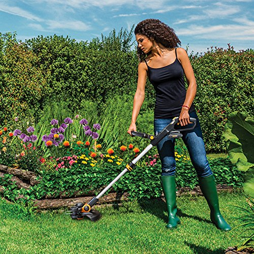 Worx WG163 GT 3.0 20V Cordless Grass Trimmer/Edger with Command Feed, 12""