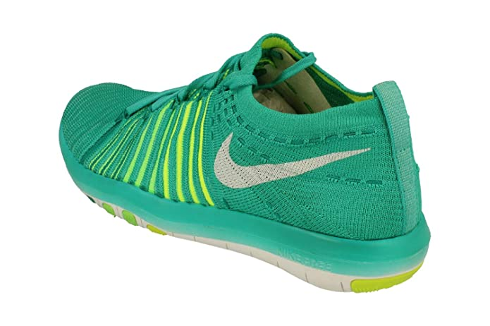Nike Free Transform Flyknit Womens Running Trainers 833410 Sneakers Shoes (US 6.5, Clear Jade White Voltage Green 301)