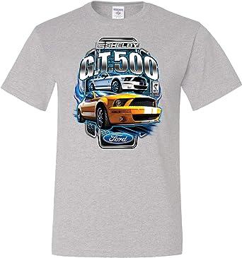 Ford Mustang T-shirt Shelby Cobra Pocket Print Tall Tee