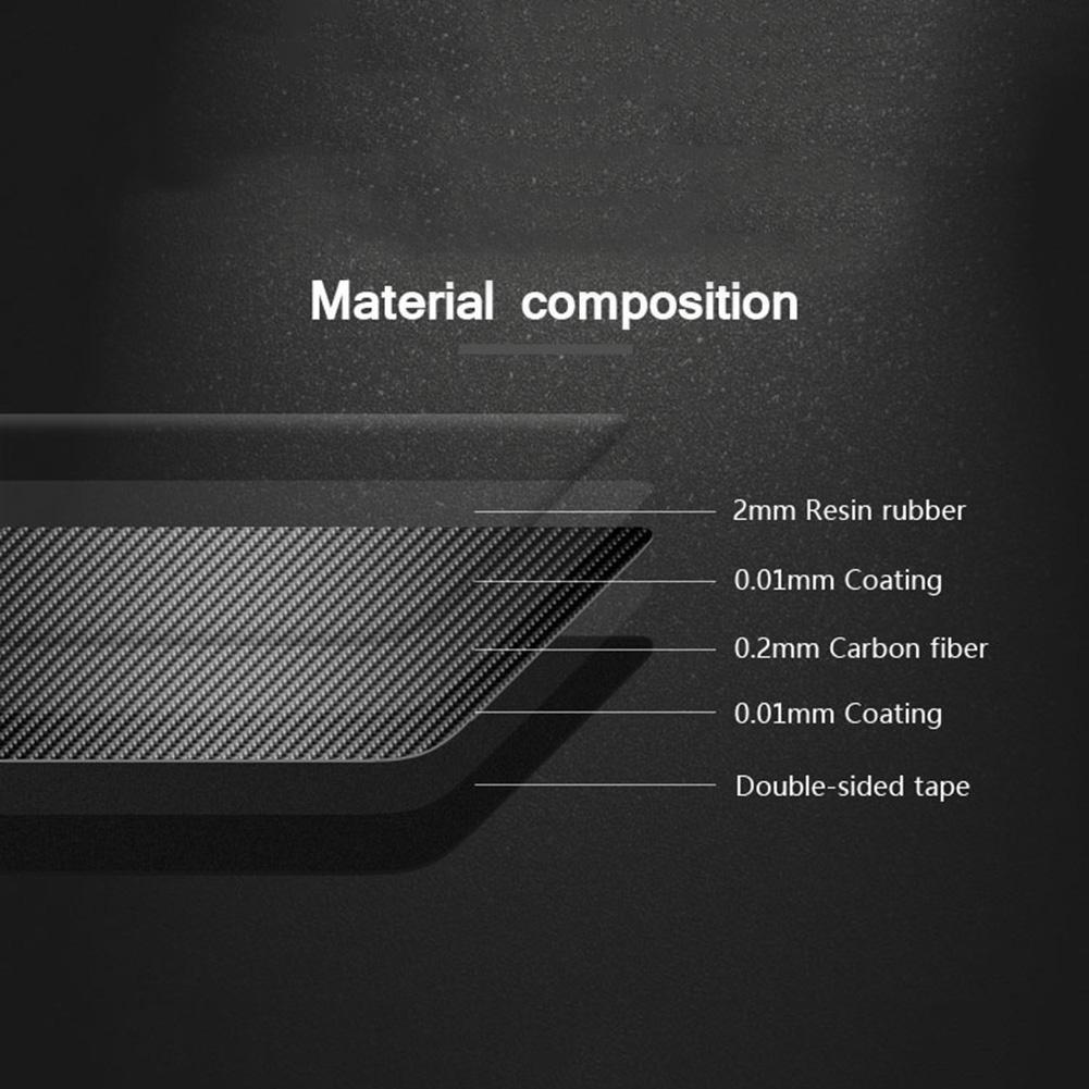 Trendyest Fibre de Carbone Phare commutateur Button Coque Garniture pour BMW S/érie 5/E60/E70/X5