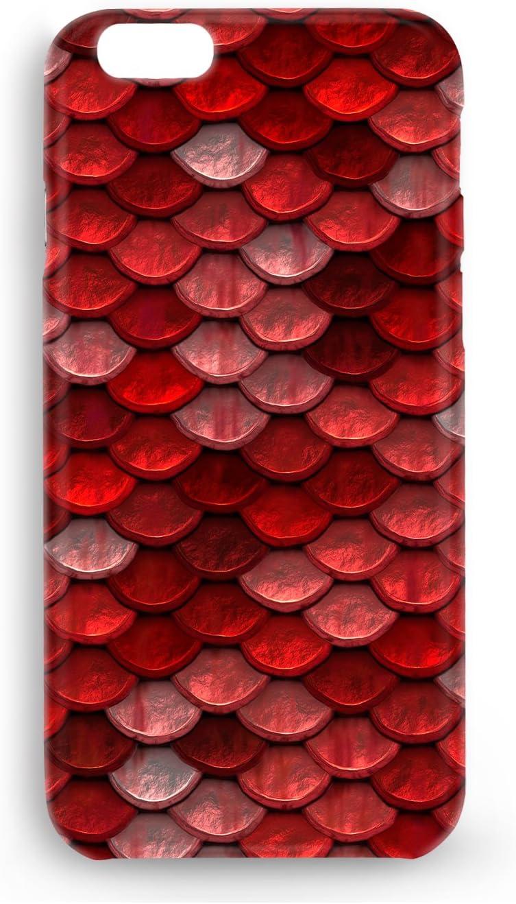 Funda Carcasa Piel Escamas Dragon para Xiaomi Mi A2 Lite (Redmi 6 Pro) plástico rígido