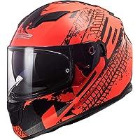 LS2 Casco de moto FF320 Stream Evo Lava