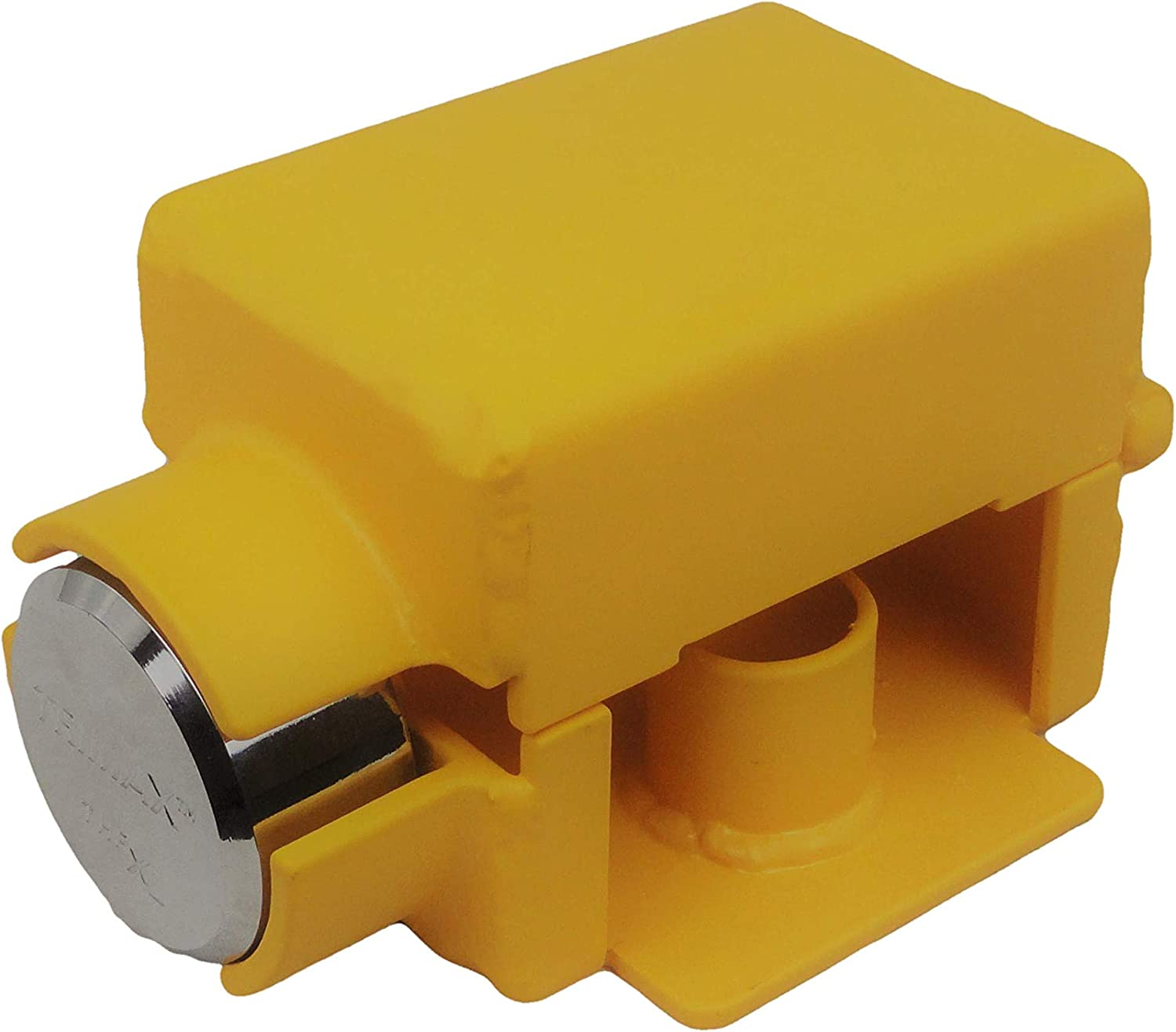 Ft. Knox Locks Curt Style Bumper Pull Lock W/Trimax Puck Lock- Bolt Cutter Proof (Only fits couplers Shown)