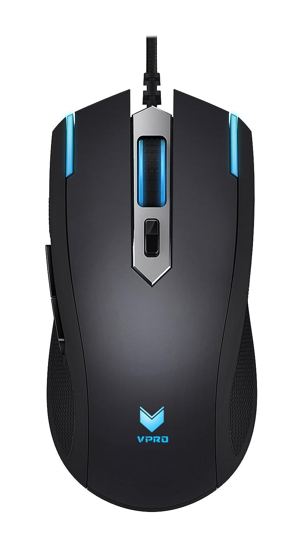 Rapoo vPro Gaming Ratón óptico (conmutable Sensor, iluminación, diseño ergonómico), color negro negro: Amazon.es: Informática