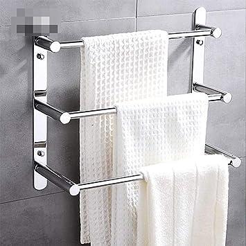 Toalleros Baño Toallero 304 Acero Inoxidable Estante Montado En La Pared Escalera De La Moderno Productos De Montado En La Pared Accesorios De 48 Cm: Amazon.es: Bricolaje y herramientas