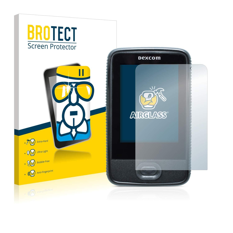 Extra-Hard Ultra-Light Screen Guard BROTECT AirGlass Glass Screen Protector for Dexcom G6 Receiver CGM