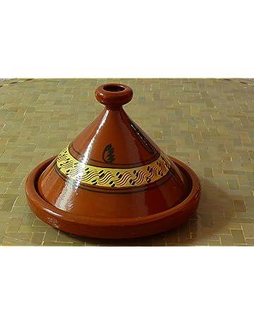 Tajine marroquí para cocinar Ø 40 cm para 6-8 personas