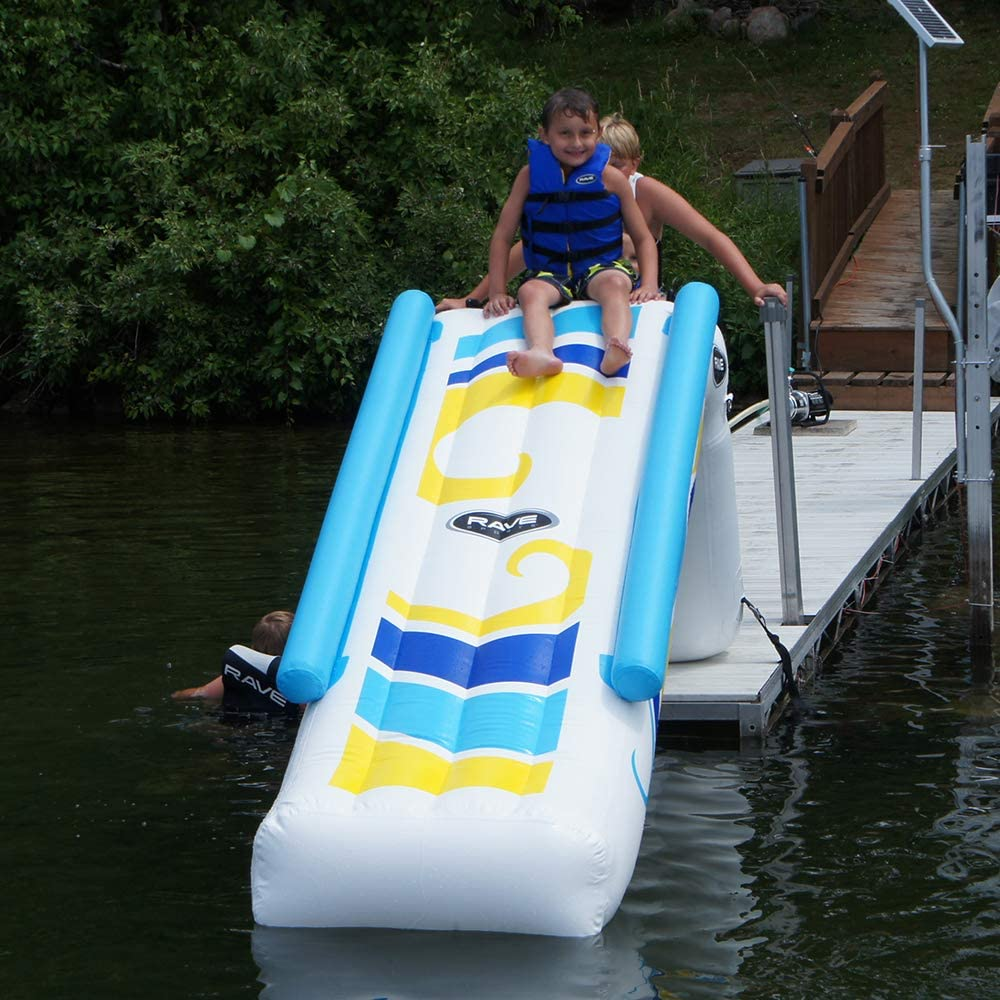 Boat Dock Slide by Rave Sports - a 2 in 1 complete package