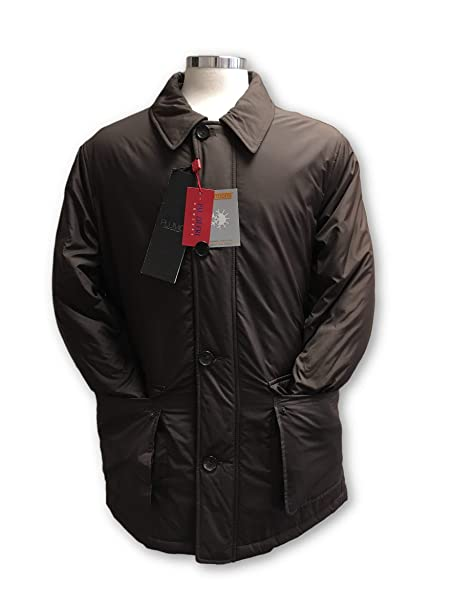 Pal Zileri Concept Plumo Short Coat in Brown Size 46R Polyester: Amazon.es: Ropa y accesorios
