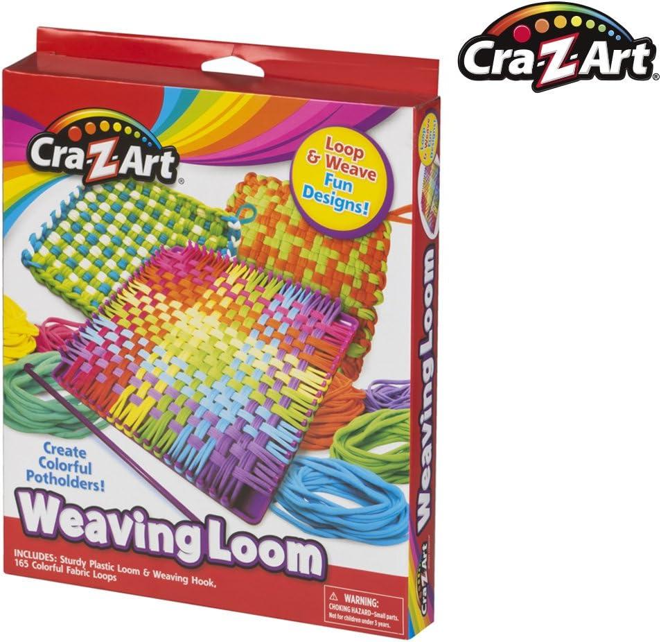 Cra-Z-Art - Telar y Tejidos de Colores (44097): Amazon.es ...