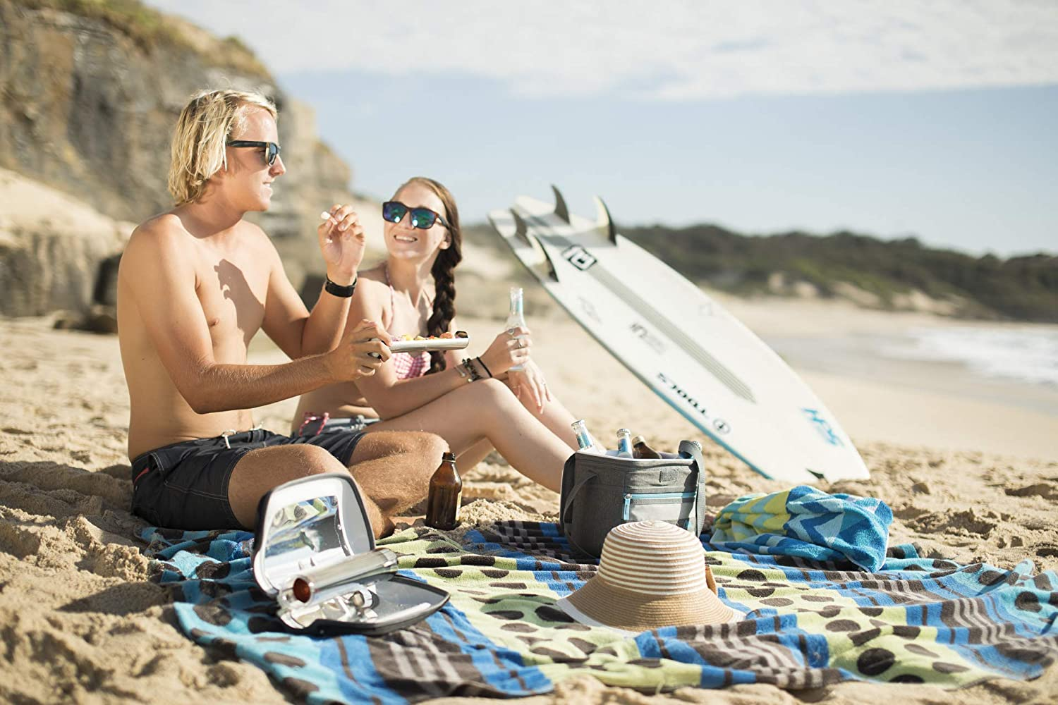 Perfect for Camping or Hiking GoSun Go Ultra-Portable Solar Cooker Heats Drinks and Bakes Food Weighs 2 lbs