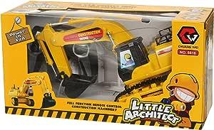 Chuang Wei S-1074 RC Construction Machinery - Yellow
