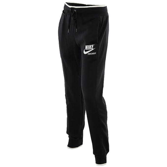 authorized site unbeatable price newest selection Nike Sportswear Archive Fleece Pant Jogger Women Black White ...