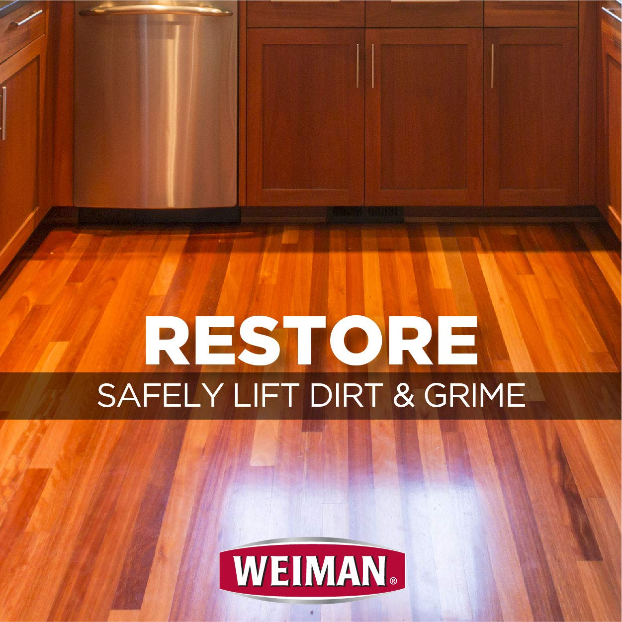 Weiman Wood Floor Cleaner [2 Pack] 32 Ounce - Hardwood Finished Oak Maple Cherry Birch Engineered and More - Professional Safe Steak-less by Weiman (Image #7)
