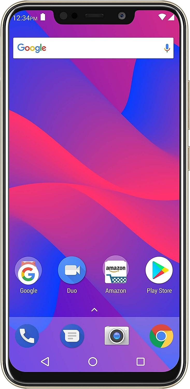 "BLU VIVO XL4 6.2"" HD Display Smartphone 32GB+3GB RAM, Gold"