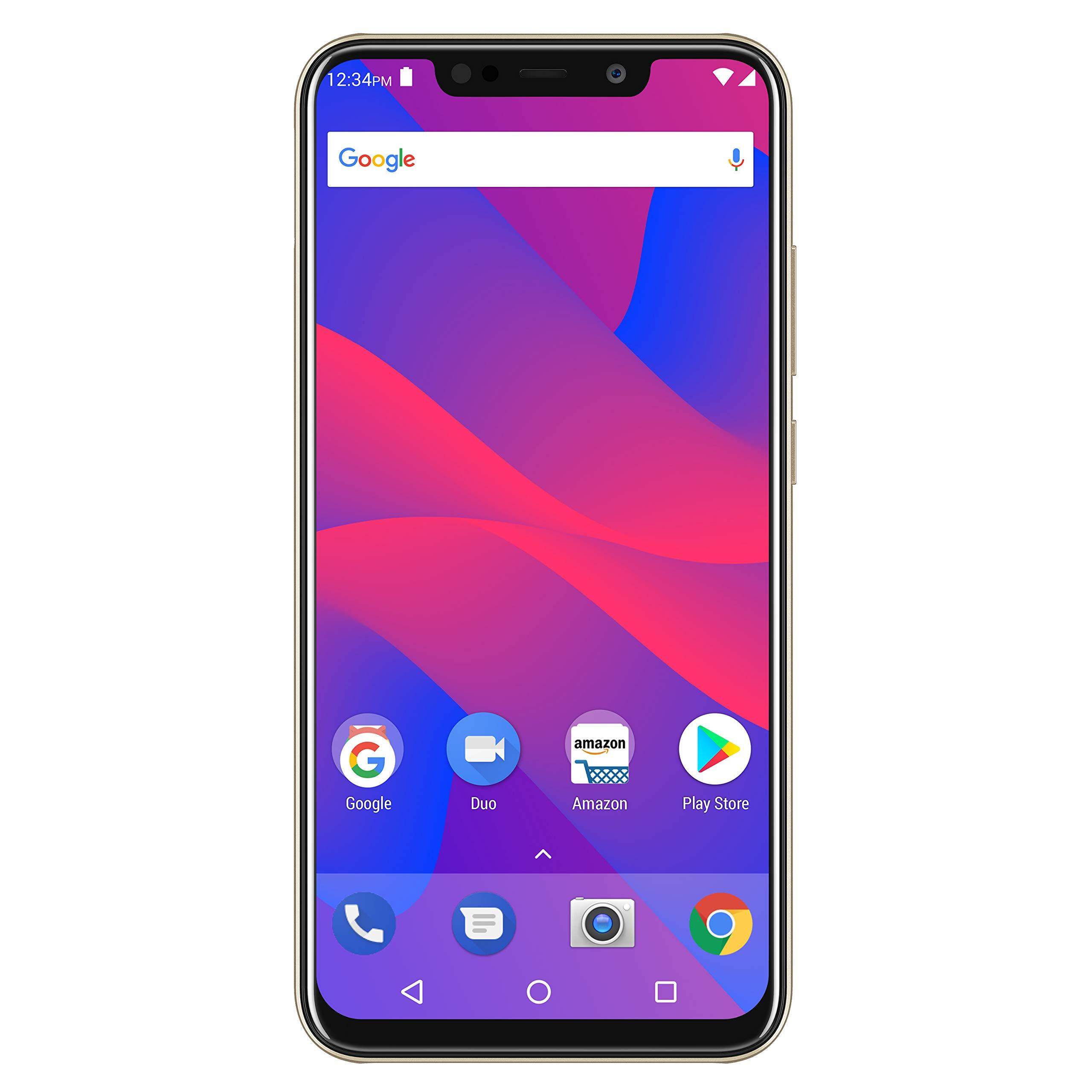 "BLU VIVO XL4 – 6.2"" HD Display Smartphone, 32GB+3GB RAM –Gold by BLU (Image #1)"