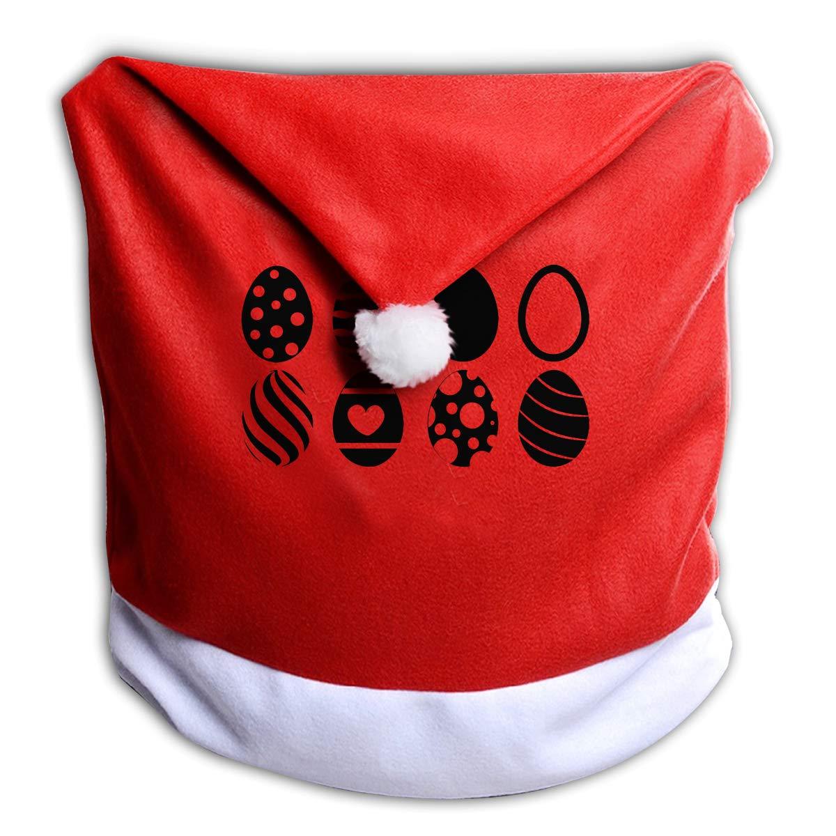 Miraculous Amazon Com Mojp9 Christmas Chair Covers Decor Easter Eggs Spiritservingveterans Wood Chair Design Ideas Spiritservingveteransorg