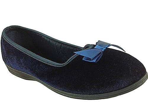 Dunlop - Zapatillas de estar por casa para mujer normal, color multicolor, talla 39: Amazon.es: Zapatos y complementos