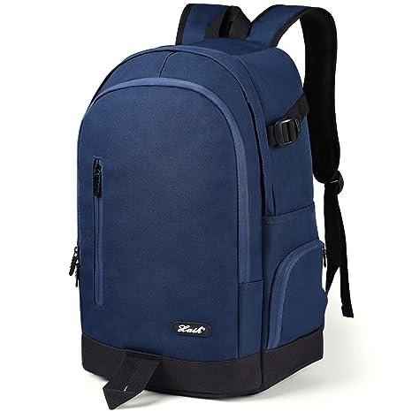 "42663f622 YAMTION Mochila Hombre Mochilas Escolares Juveniles Adolescentes Mochila  para Ordenador Portátil 15,6"" Laptop"