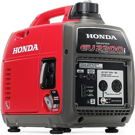 Amazon.com: HONDA 2200W Companion Generador: Jardín y Exteriores