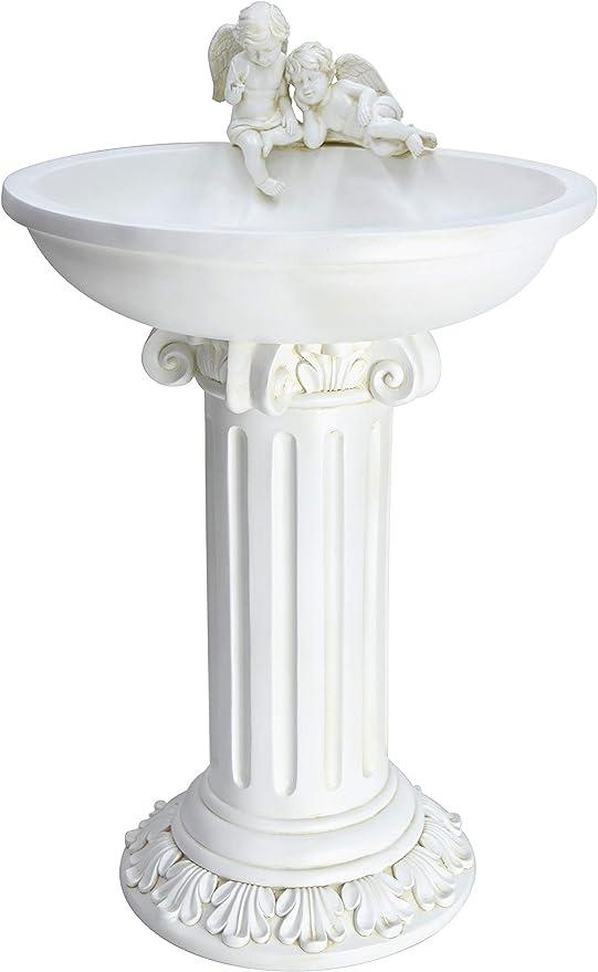 MP Essential - Fuente de Agua para jardín, diseño de ángel de querubín: Amazon.es: Jardín