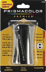 Prismacolor Premier - Kit de accesorios para lápices de colores con batidores y gomas de borrar, Sacapuntas, Negro, 1 caja