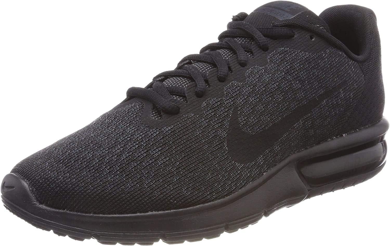 Nike Air Max Sequent 2 Gymnastiek Schoenen voor heren Black Black Black 015