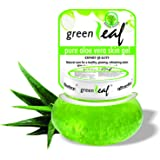 Green Leaf Pure Aloe Vera Skin Gel, Green, 120g