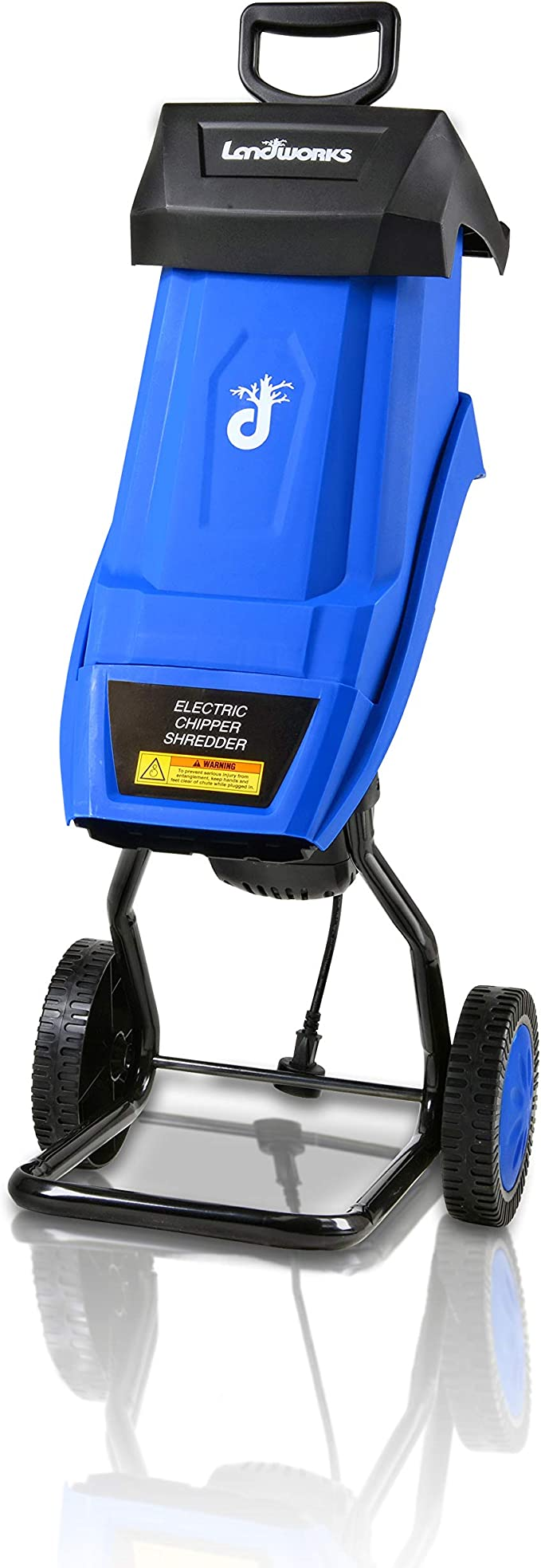 Landworks Electric Wood Chipper Shredder – Best for Long Use