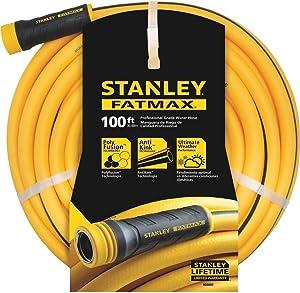 Stanley Garden BDS6652 Stanley Fatmax 5/8 x 100 Garden Hose, 100-ft, Yellow