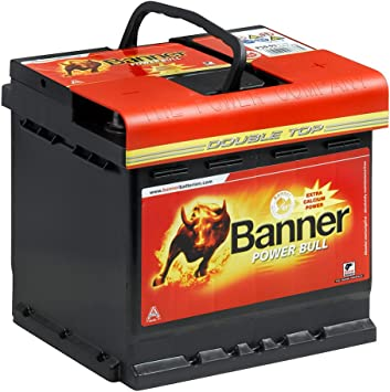 Autobatterie 47Ah 30/% mehr Startkraft ersetzt 42Ah 44Ah 45Ah 46Ah 50Ah Batterie