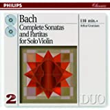 Bach, J.S.: Complete Sonatas & Partitas for Solo Violin (2 CDs)