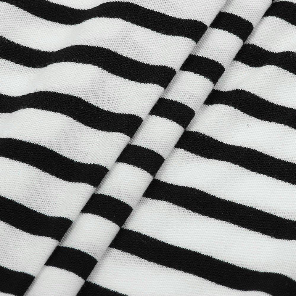 Goosuny Damen Gestreift Pullover Modische Langarm T Shirts Fr/ühling Herbst Streifen Blusen Elegante Rundhals Print Lose Blusenshirt Hemd Bluse Oberteile F/ür Festliche Freizeit
