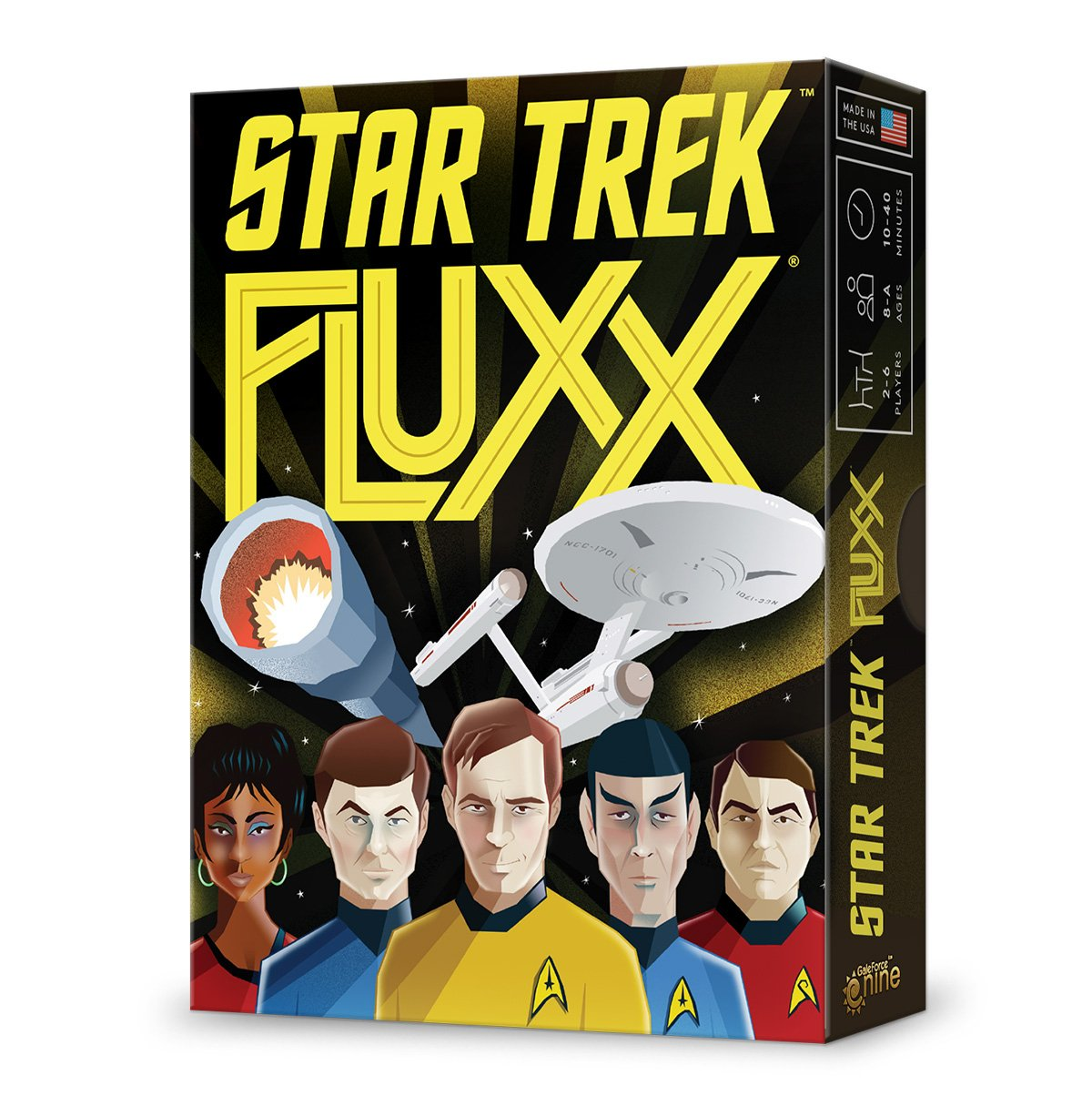 Unbekannt Looney Labs LON00085 Star Trek Fluxx, Mehrfarbig Pegasus Spiele LOO-085