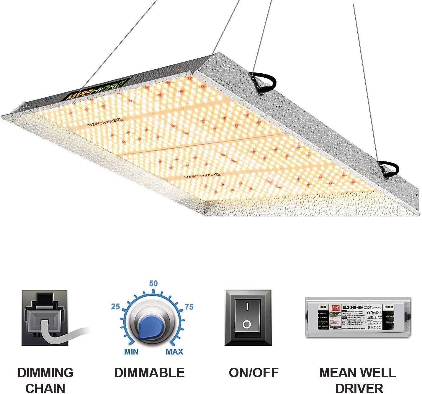 Mars Hydro TS 600 3000 LED Plant Lamp Grow Light, TS