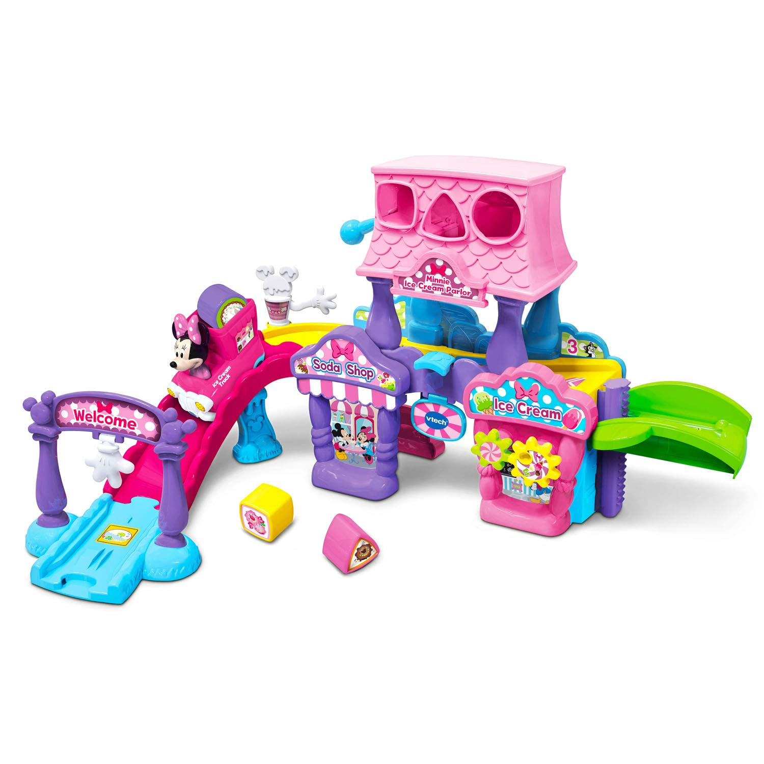 VTech Go! Go! Smart Wheels Minnie Mouse Ice Cream Parlor by VTech (Image #1)