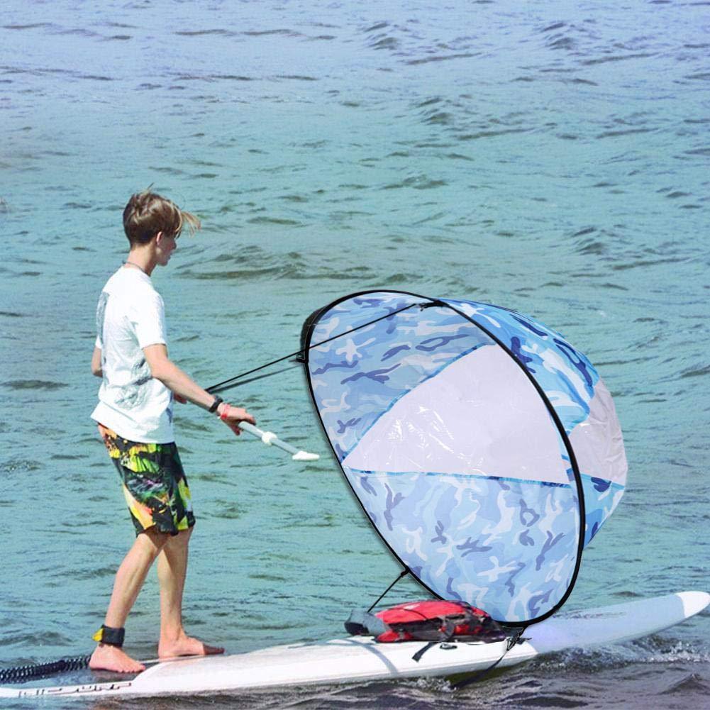 Rlorie Kayak Vela Paddle 42 Pulgadas Accesorios de Kayak Canoa Compacto y Port/átil Grand
