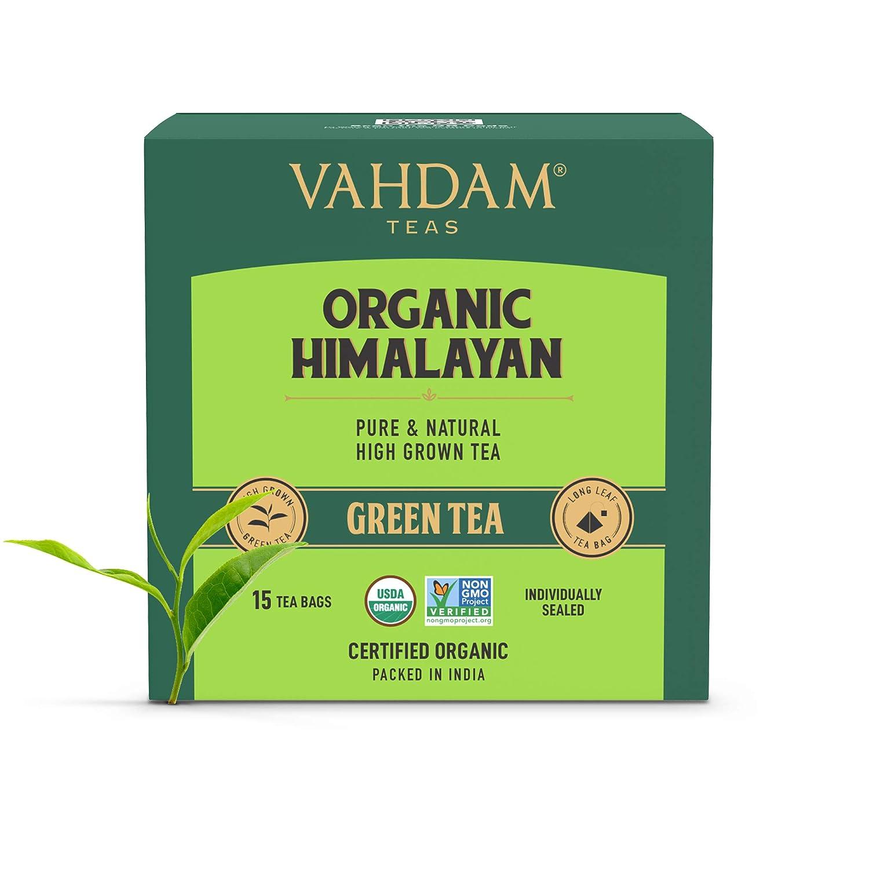 vahdam green tea