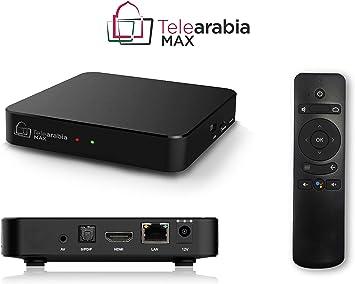 Telearabia MAX 4K Box con Android TV e Chromecast – con 1 Anno Della Migliore televisione araba: Amazon.es: Electrónica