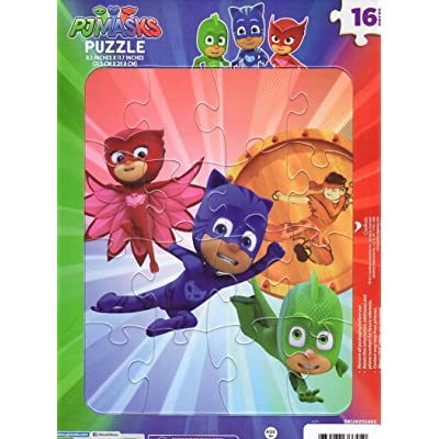 Puzzle Kids Playtime Toddler Fun PICTURE MAY VARY 16 Pieces Jigsaw PJ Masks: Toys & Games [5Bkhe1003911]